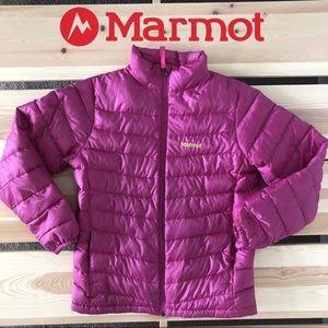 Marmot Girls 700 Fill Down Jacket Bright Pink